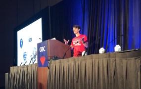 Niantic's John Hanke at GDC 2019.