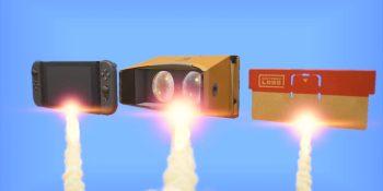 Nintendo Labo VR will have over 64 minigames