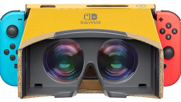 The Labo VR Kit for Switch.