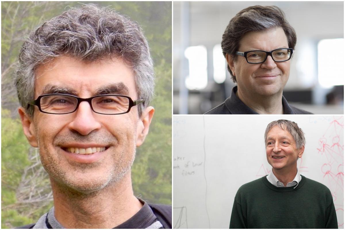 Geoffrey Hinton, Yann LeCun, and Yoshua Bengio named Turing Award winners