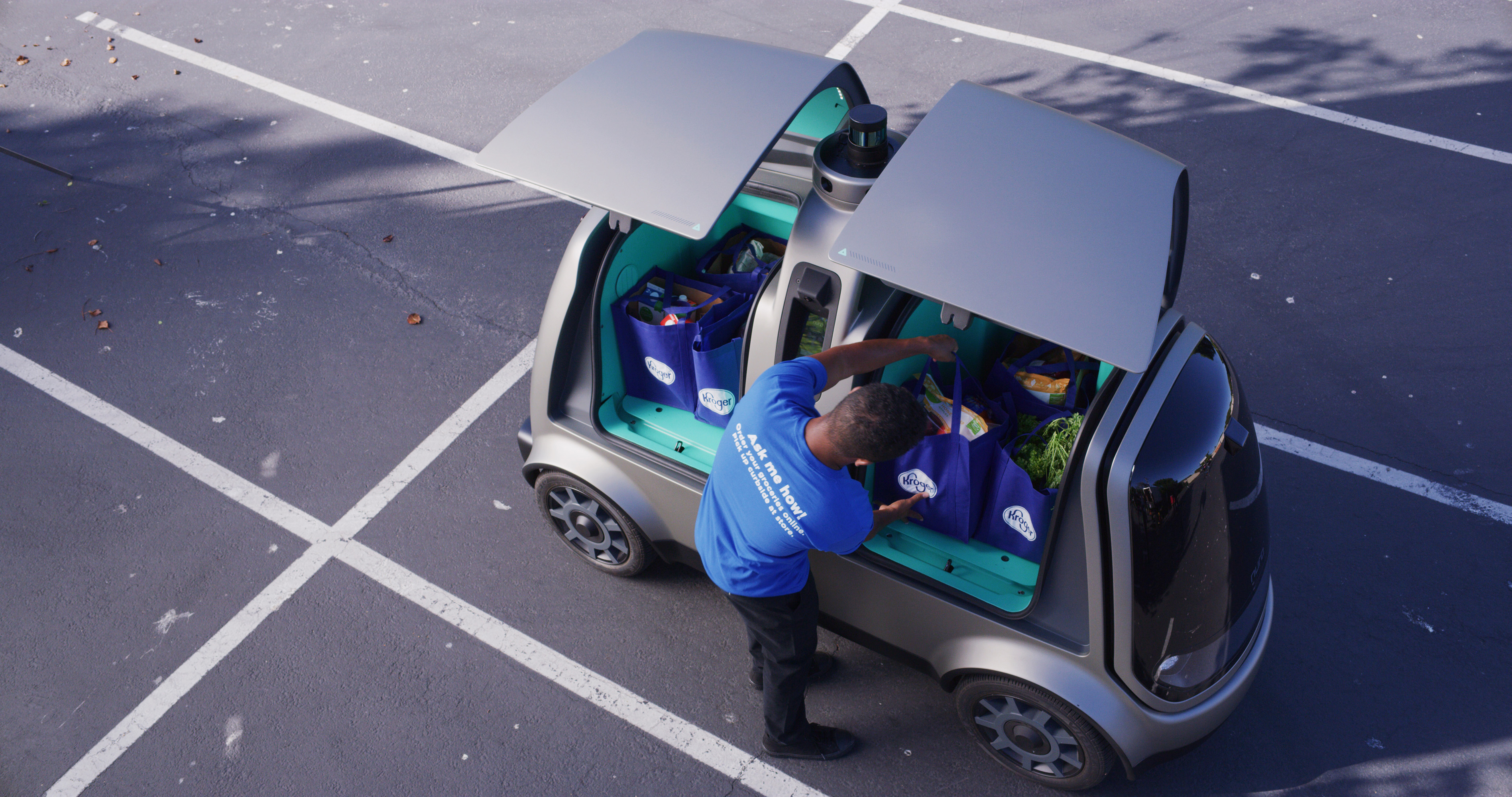 Nuro expands Kroger driverless deliveries to Houston