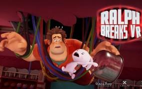 The diner scene in Ralph Breaks VR.