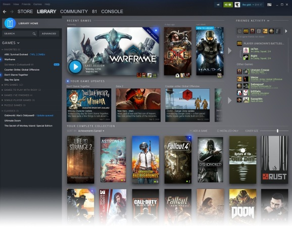 Steam is going to let you know what your friends are playing.