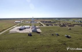 U.S. Cellular demonstrates smart farming via its rural-focused wireless network.
