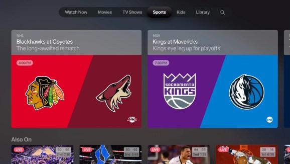 Apple's new TV app for tvOS 12.3.