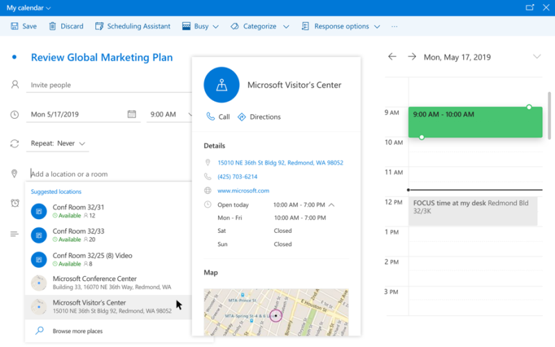 Outlook's new AI features help you plan for meetings
