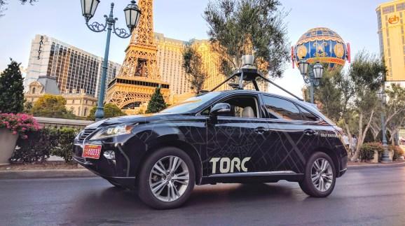 Torc Robotics car