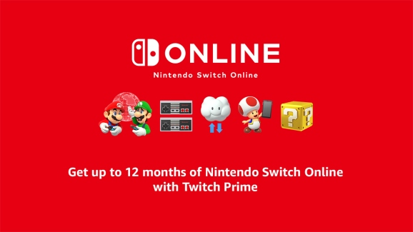 Nintendo joins the Twitch Prime club.
