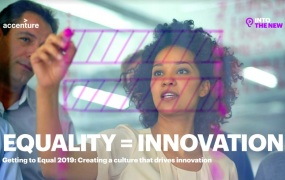 Accenture says a culture of equality leads to innovation.
