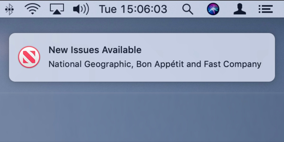 Apple News Magazines Subscription Feature Appears in MacOS 10.14.4 Beta