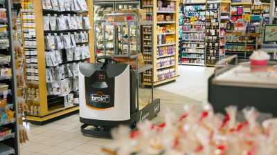 Brain Corp unveils delivery robot for retail stores