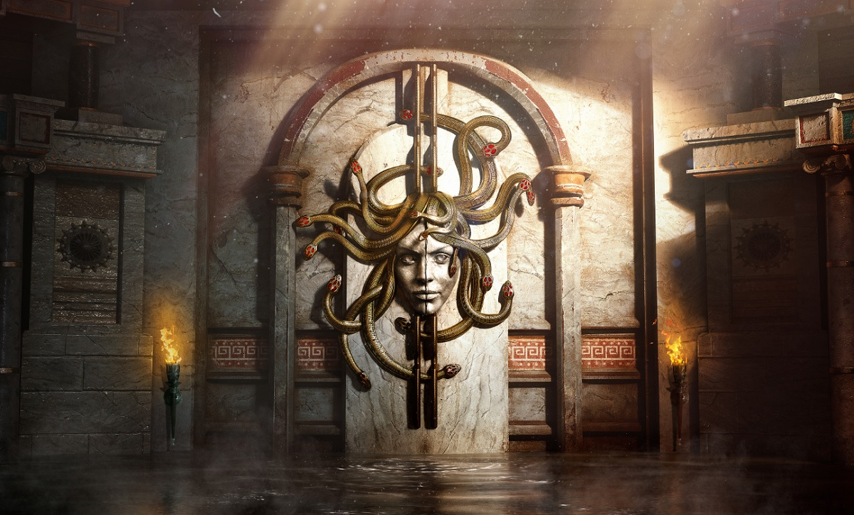 Ubisoft's Blue Byte unveils VR escape room Beyond Medusa's Gate