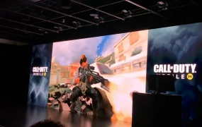 Activision shows Call of Duty Mobile.
