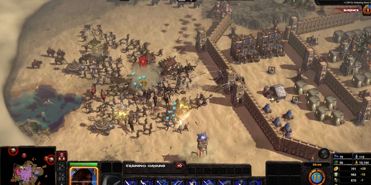 Will this stronghold hold out against enemy attack in Conan Unconquered.