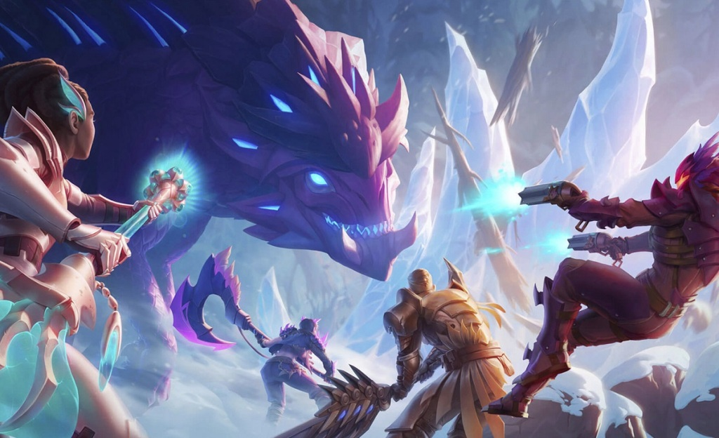 Dauntless is a new title in the Epic Games Store.