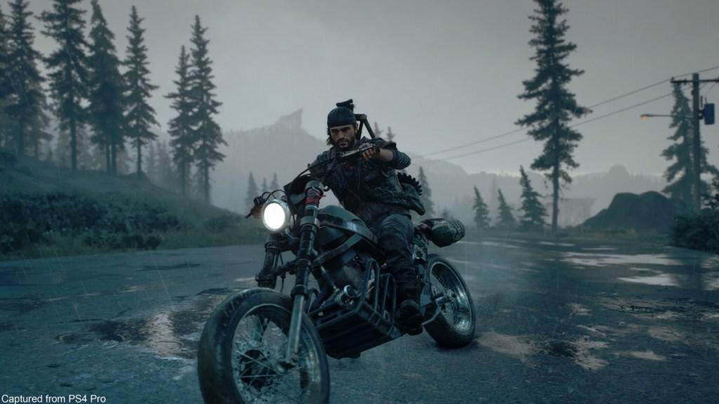Deacon's ride in Days Gone.