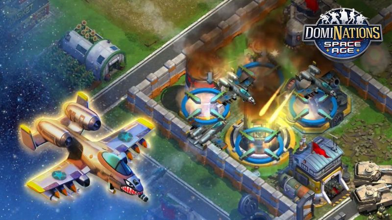 [DomiNations]DomiNations passes 50 million downloads ahead of Space Age update