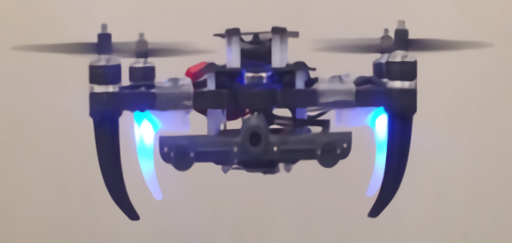 Nuclear inspection drone