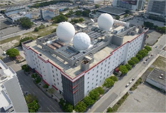 The Equinix hub in Miami.