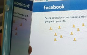 Facebook: mobile app and website
