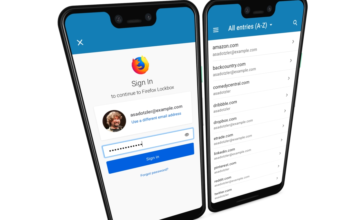 Mozilla Brings its Firefox Lockbox Password Manager to Android