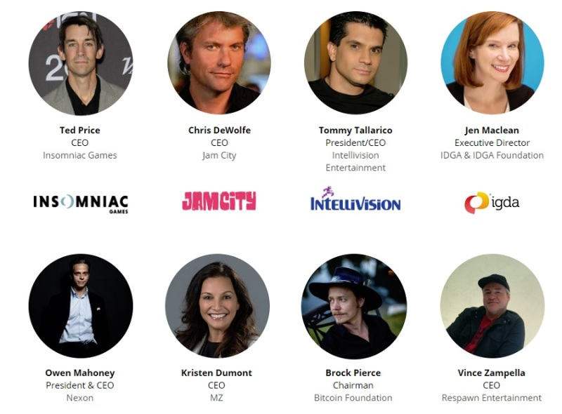 Eight of our key speakers at GamesBeat Summit 2019.