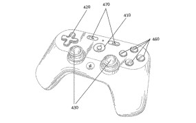 A patent for a Google video game controller.