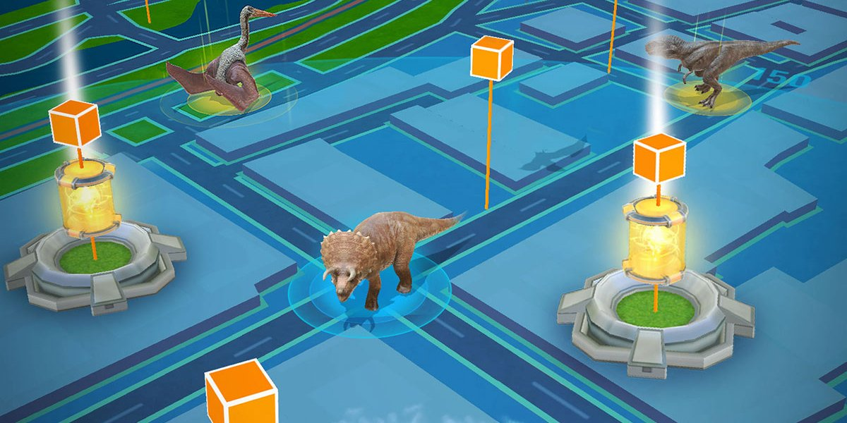 Jurassic World: Alive used Google Maps for its location-based gaming.