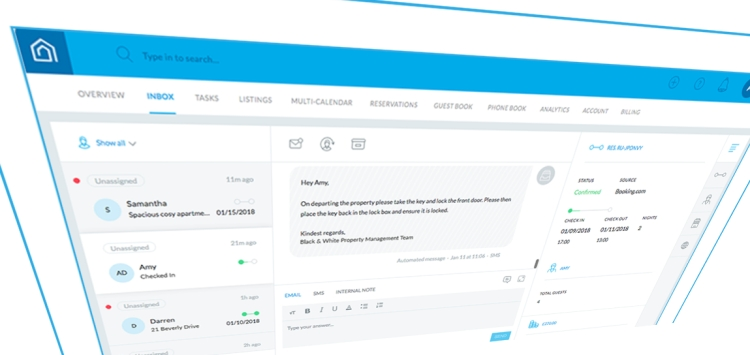 Guesty: Unified messaging