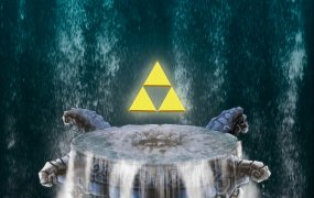 Rock with Zelda.