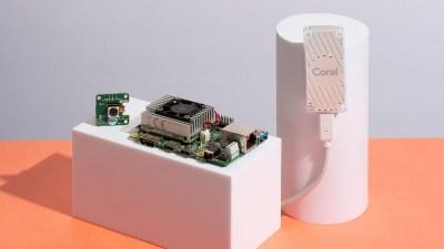 Google begins selling the $150 Coral Dev Board, a hardware