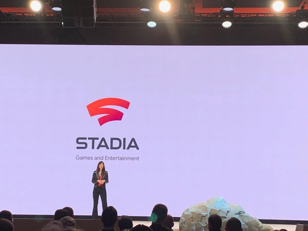 Jade Raymond at Stadia launch.