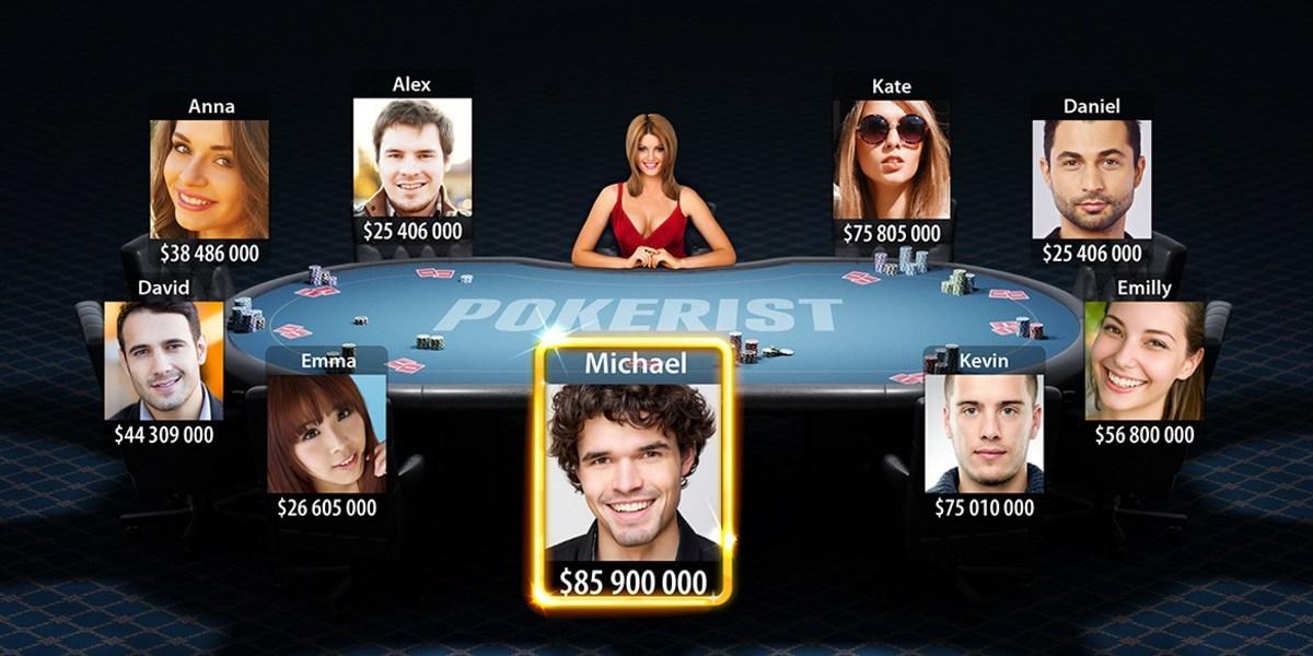 KamaGames' biggest title is Pokerist.