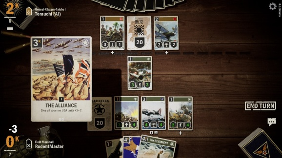 Kards is a WWII card game.