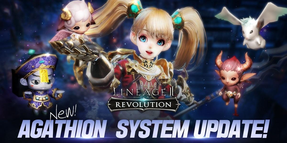 Lineage 2: Revolution has a new Agathion system update.