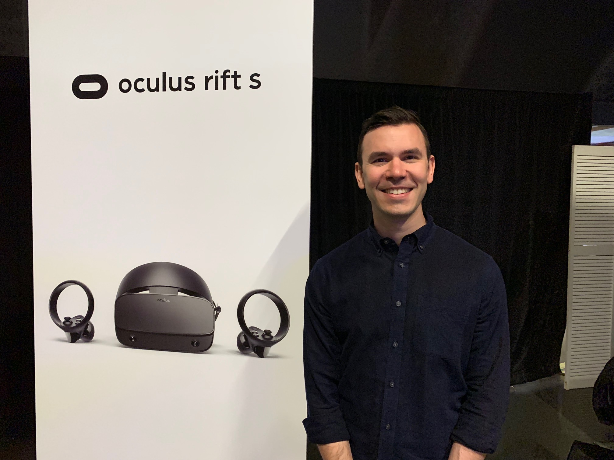 Nate Mitchell interview -- Why Facebook built the Oculus Rift S