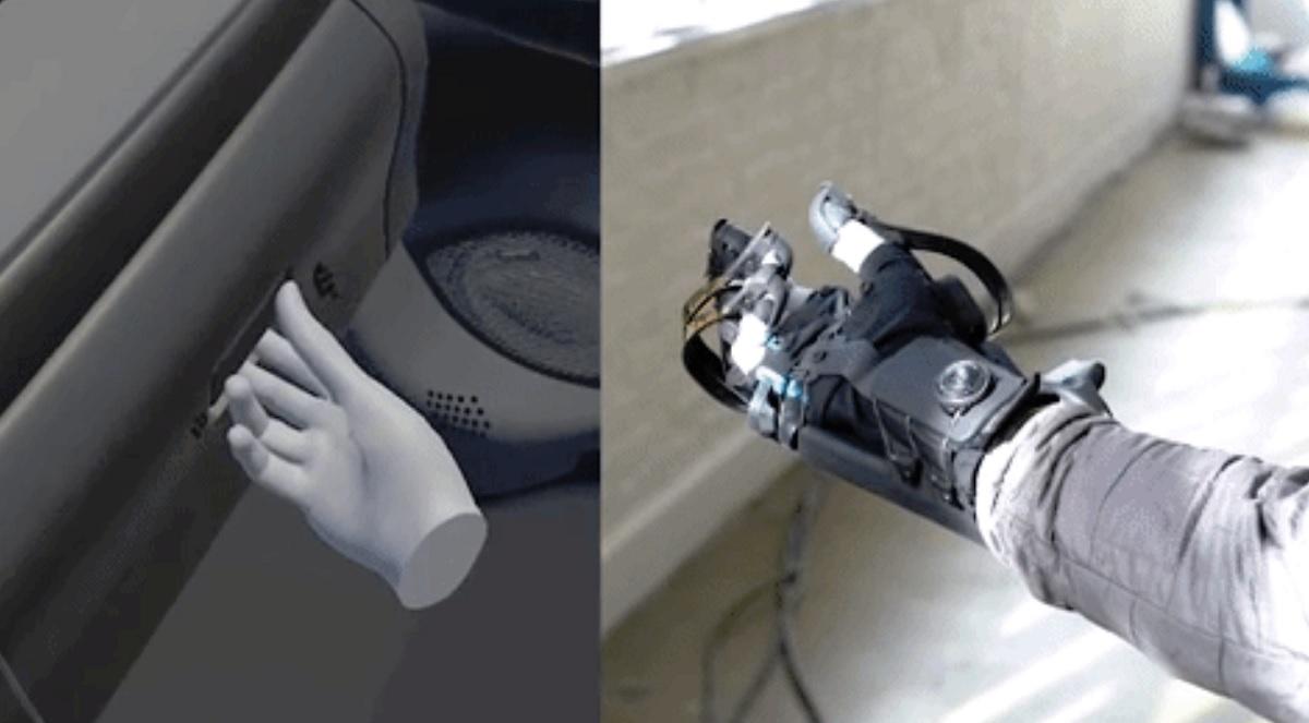 Haptx перчатки