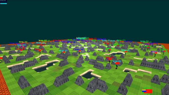 OpenAI Neural MMO
