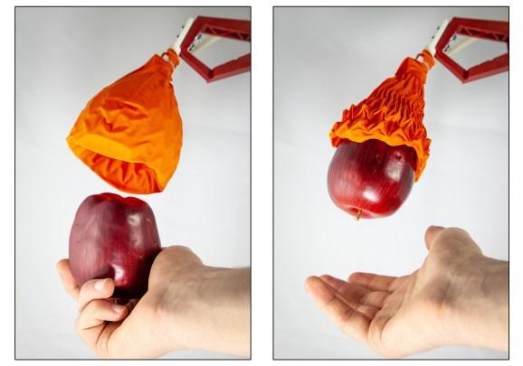 Harvard MIT origami gripper