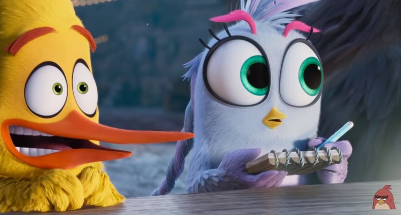 A scene from the Angry Birds 2 movie.