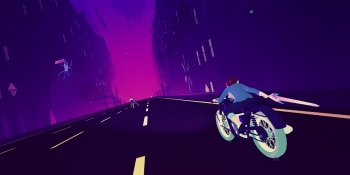 Sayonara Wild Hearts hands-on preview — Playing a pop music game at 200 miles per hour