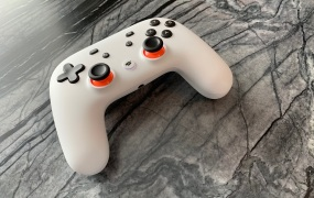 Google's Stadia game controller.