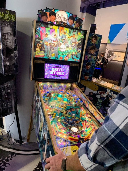 Stern Pinball's The Beatles game.