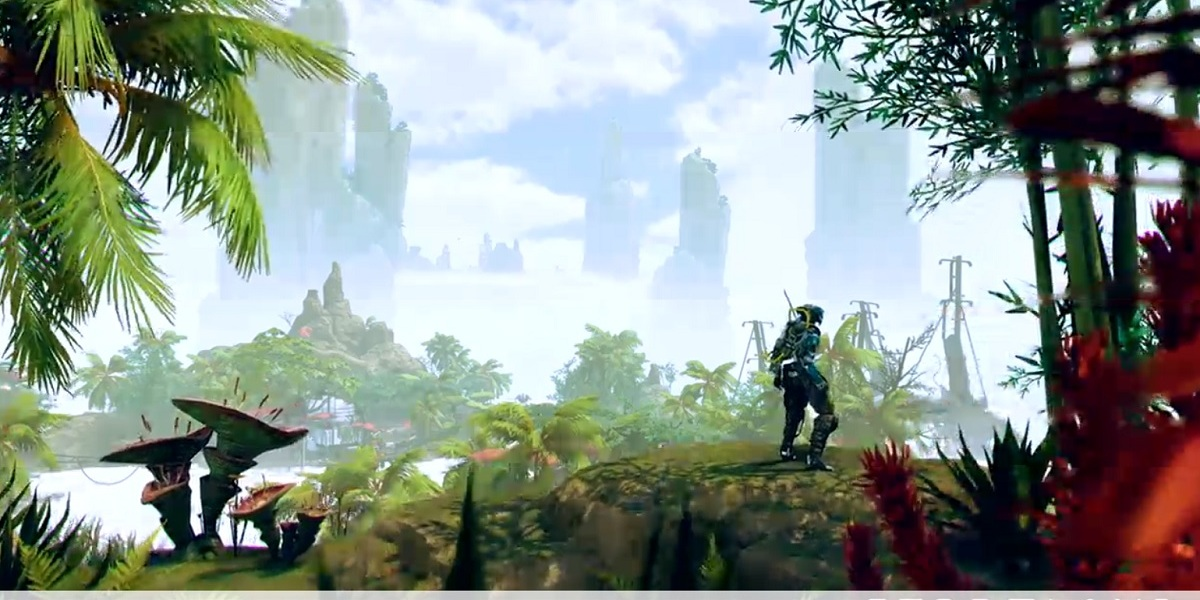 Stormland is Insomniac's open world VR game.