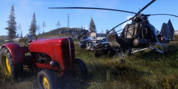 Tractor or helicopter? You know which one you have to choose.