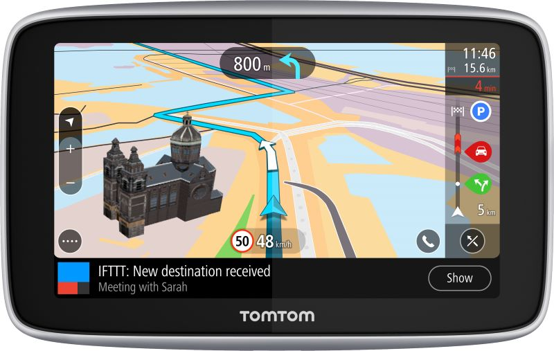TomTom's latest satellite navigation device taps IFTTT to