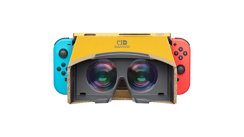 Nintendo Labo VR is coming soon.