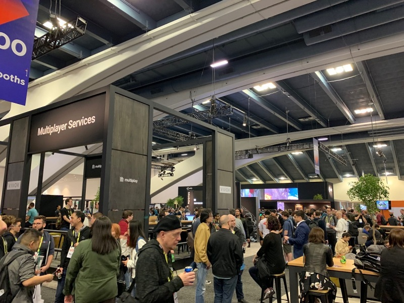 Unity booth at GDC 2019