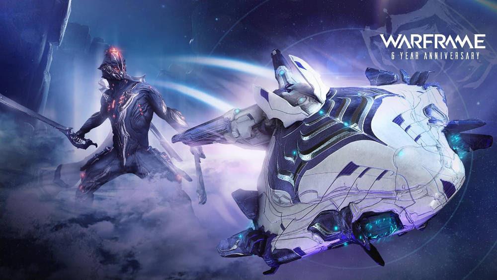 Warframe nears 50 million players milestone on sixth anniversary