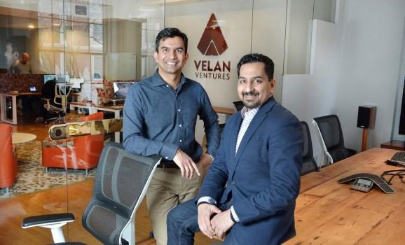 Velan Studios founders Guha Bala, left, and Karthik Bala.